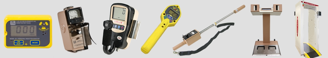 New Products from Ludlum Measurements, Inc.